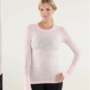 Lululemon Swiftly Tech Long Sleeve *Paisley